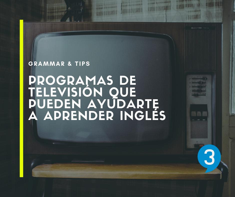 programas television aprender ingles